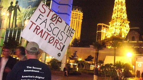 stop the fascist traitors