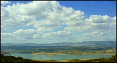 Omodeo Lake, Sardinia (digitalTool ) Tags: sardegna sky lake clouds landscape lago volcano bravo mediterranean mediterraneo sardinia horizon valle wideangle valley sardaigne prehistorical oldvolcano golddragon omodeo anawesomeshot aplusphoto shardana theperfectphotographer thebestofday gnneniyisi digitaltool barigadu