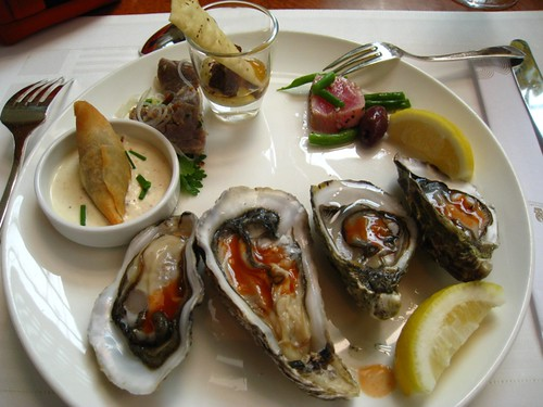 Oysters & Appetizers - Champagne Brunch @ Ritz Carlton, Singapore