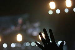 Reaching for the stars (bleublogger) Tags: star concert police event lots melikey insingapore