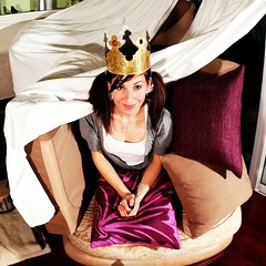 my couch is my castle...day 25 / year 2 (TeeRish) Tags: castle year2 dork adorkable burgerkingcrown 365days flickrgrouproulette couchfortconfidential