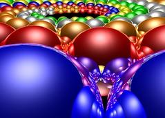 Senat (fdecomite) Tags: color reflection spiral sphere math doyle povray imagej abigfave