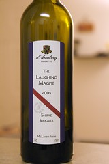 "2005 d'Arenberg ""Laughing Magpie"" Shiraz-Viognier"
