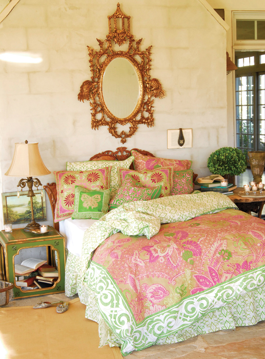 Bohemian Inspired Tracy Porter Rosewater Bedding.