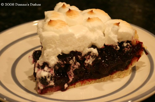 Pi Day: Blueberry Pie