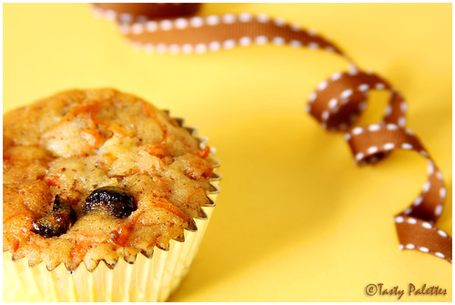 Vegan Carrot Pineapple Muffin