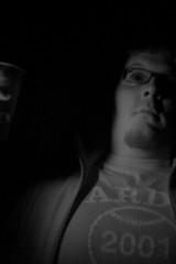 Quarter Draft Night (mattbellphoto) Tags: bear blackandwhite bw bar drunk ir drink infrared quarter budlight chapelhill eastenders franklinstreet drank digitalinfrared partykids pseudoinfrared fauxinfrared