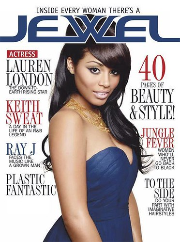 lauren london jewel magazine cover