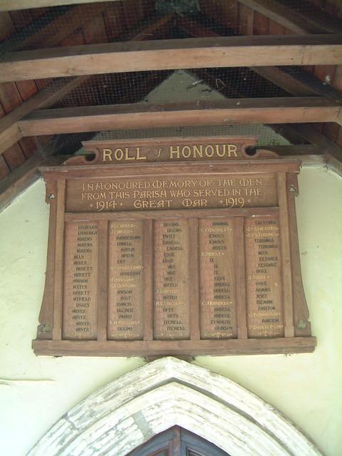 Mulbarton Roll of Honour by Moominpappa06