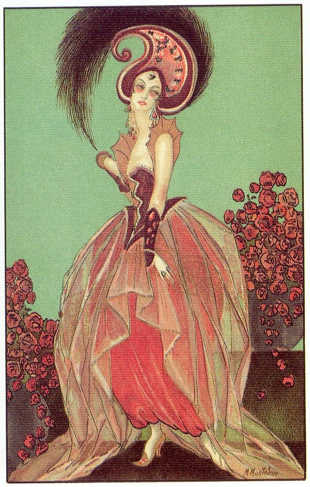 art deco postcard 3  1920s