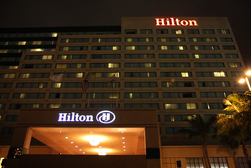 Hilton Hotel by San Diego Shooter, on Flickr