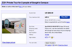 Google Tour on eBay