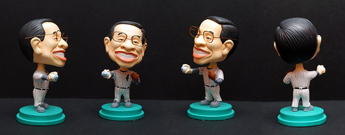 3D caricature bobblehead dolly -Xie Chang Ting