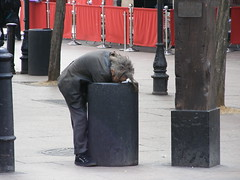 Tramp /Ex Banker? Migrant bin rumaging in London (top_gun_1uk) Tags: party london westminster geotagged homeless bin suit labour conservative recycle issues bins tramp cityoflondon rubish inflation bankrupt downandout migrant banker keepbritaintidy bankofengland liberaldemocrats  bigissue thebigissue polotics recycleing abigfave homelessnes sleepingruff bankrupsy bankersbonuss bankbonus banksbonus doenandout britishpolotics