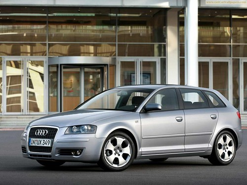 audi a3 wallpaper. Audi A3 Sportback 2009