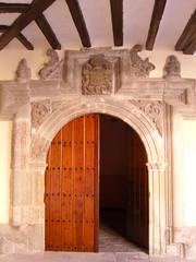 Borja (Espagne) (fredpanassac) Tags: door espaa spain puerta porte portal tor espagne tr spanien borja aragn plazadelmercado palaciodelosangulo