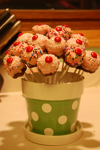 Cupcake Pop Bouquet