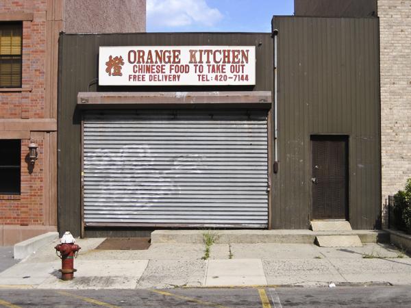 Orange Kitchen, May 15th