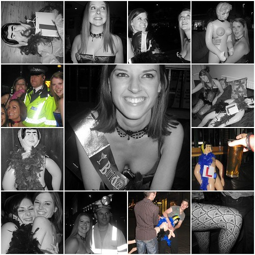 Hen Night Collage