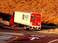 Red Semi-Truck
