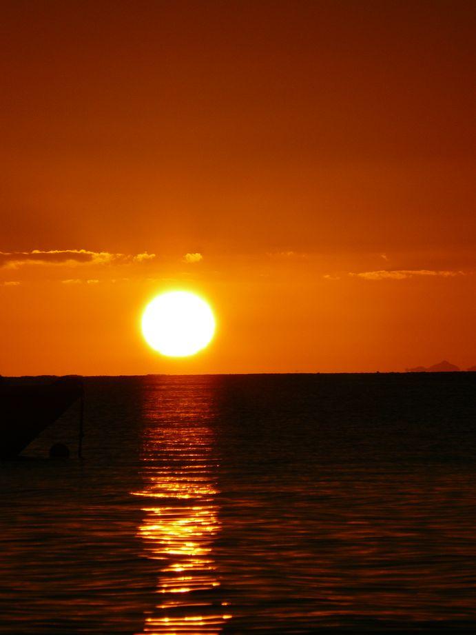 Ile des Pins 2008 #23 : Coucher de soleil #6