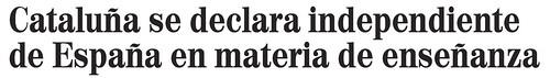 El mundo catalunya independiente