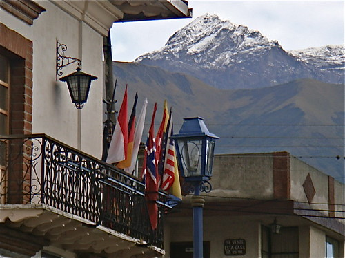 Mt Cotacachi from