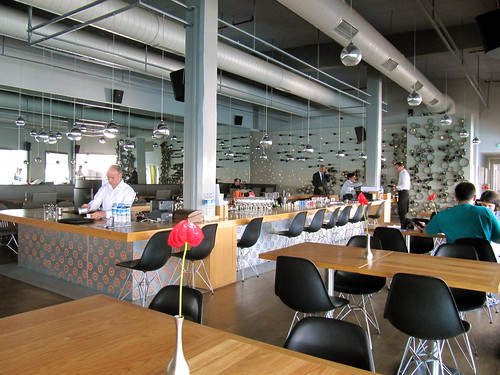 cafe in Istanbul Modern
