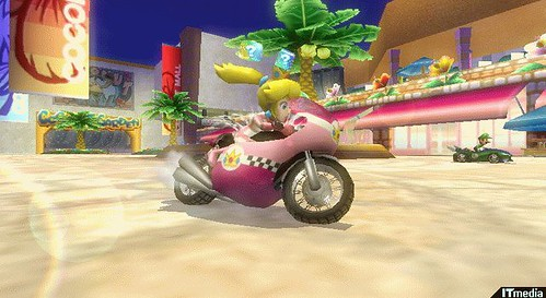 princess peach mario kart. Mario Kart + Motorcycles  WIN