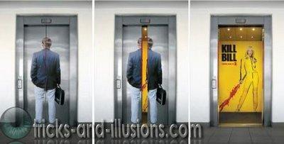 エレベーター広告3