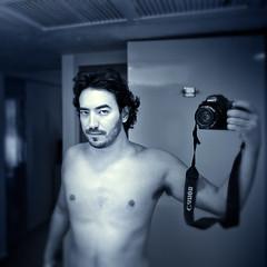 Self Portrait - Half Naked (Luis Montemayor) Tags: selfportrait man square mirror explore espejo acapulco autorretrato hombre halfnaked guerrero semidesnudo luismontemayor