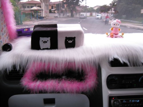 interior of a a Hello Kitty Kenari