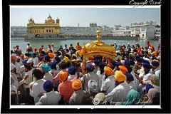 Palki Saheb At The Golden Temple (Raminder Pal Singh) Tags: people india