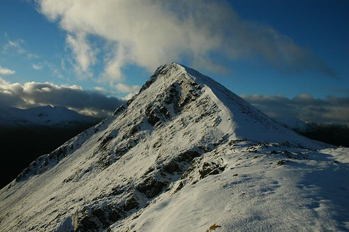 View back to Sgurr a' Bhuic