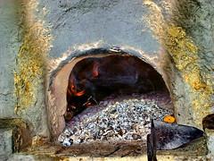 Hot hole (Emilofero) Tags: fire europe oven bulgaria tarnovo veliko mywinners impressedbeauty