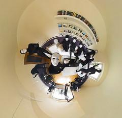Something strange is in my living room (HamburgerJung) Tags: panorama black model mask alien clone maske peleng stereographic hugin klon nn3 jarodvoight