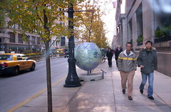 Globes and Sidewalk repair 30 N LaSalleCityHall 005