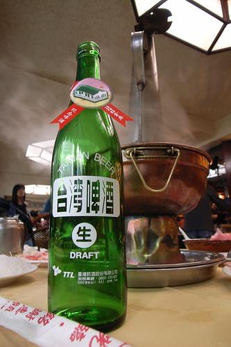 火鍋+啤酒 ==> 讚啦!