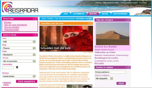 Wegener ReisRadar: verhalen en recensies van vakantiegangers ter inspiratie