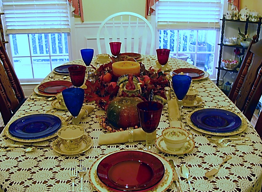 """The Table - Set for the """"Feasting"""""""