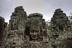 Camboya - Tres Caras (bizen99) Tags: cambodia tres caras templo bayon camboya bizen99camboya