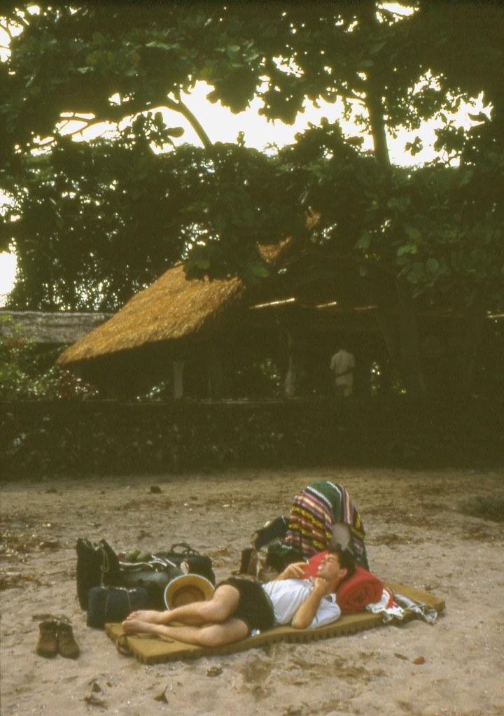 Sanur Beach, Bali, Indonesia, 1967