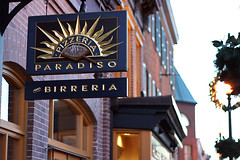 Pizzeria and Birreria Paradiso in Georgetown. Thanks to michaeljames on Flickr for the photo.