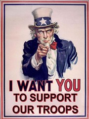 Uncle Sam Support The Troops ... AND the war to free Iraq... SUPPORT ITTTTTT!!!!!!!!!!!!!!!