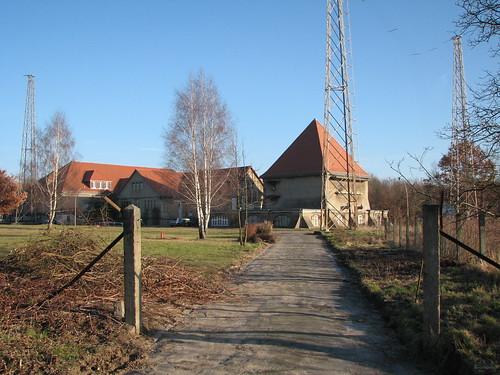 Weg zum Sender- und Funktechnikmuseum