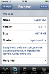 iLyrics for iPhone from iSpazio.net 1