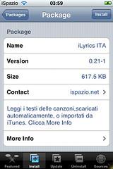 iLyrics for iPhone from iSpazio.net 1