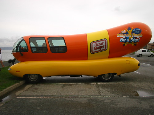 102105116523287615 in addition Wienermobile besides Showthread further Walmart has unveiled its truck of the future furthermore History Of American Food Trucks. on oscar myer dog cars