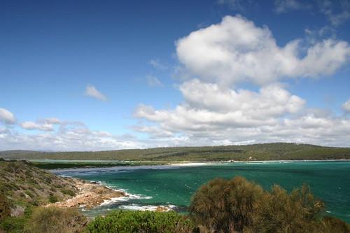 St. Helens Peninsula, Eastern Tasmania.