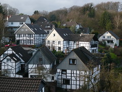 Typical German houses /    (mitko_denev) Tags: houses germany scenery village view atmosphere nrw typical nordrheinwestfalen hattingen  northrhinewestphalia blankenstein